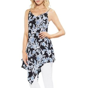 Vince Camuto Amalfi Breeze F1 Tunic Top Floral